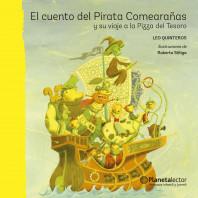 El cuento del Pirata Comearañas y su viaje a la Pizza del Tesoro